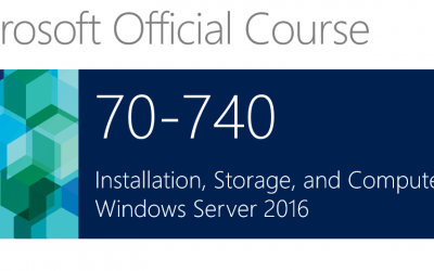 Microsoft 740 Installation, Storage and Compute with Windows Server 2016