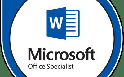 MO-100: Microsoft Word (Word and Word 2019)