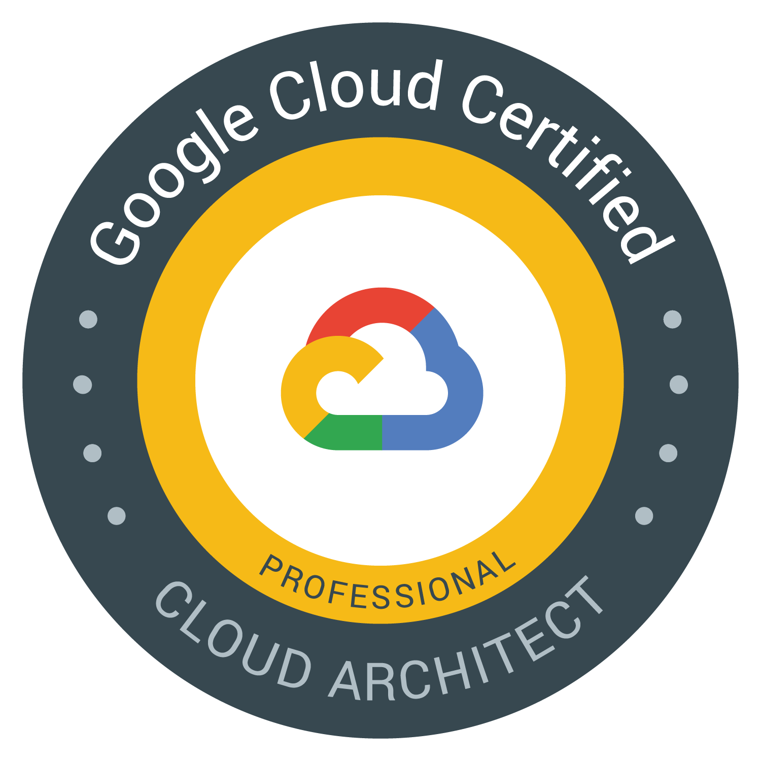 Google Cloud Certified – Professional Cloud Architect