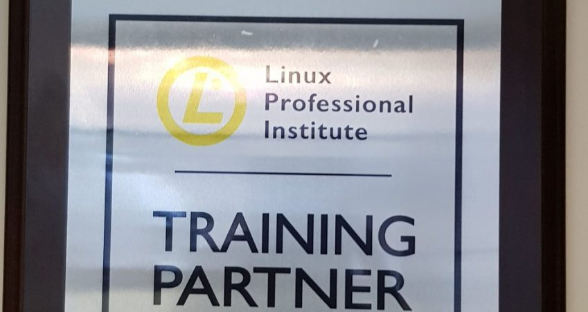Linix Professional Institute Approved Training Partner Gold