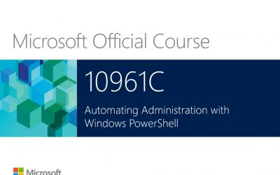 10962 – Advanced Automated Administration with Windows PowerShell