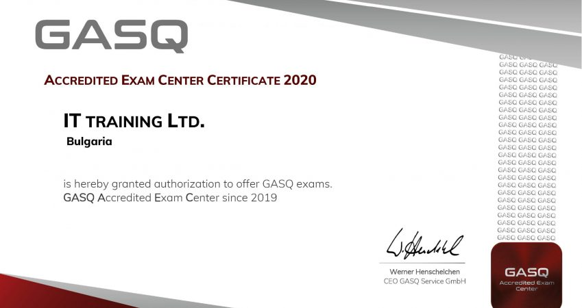 GASQ Exam Center