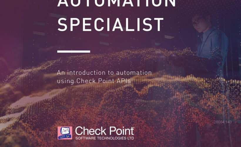 CCAS – Check Point Automation Specialist (CCAS)